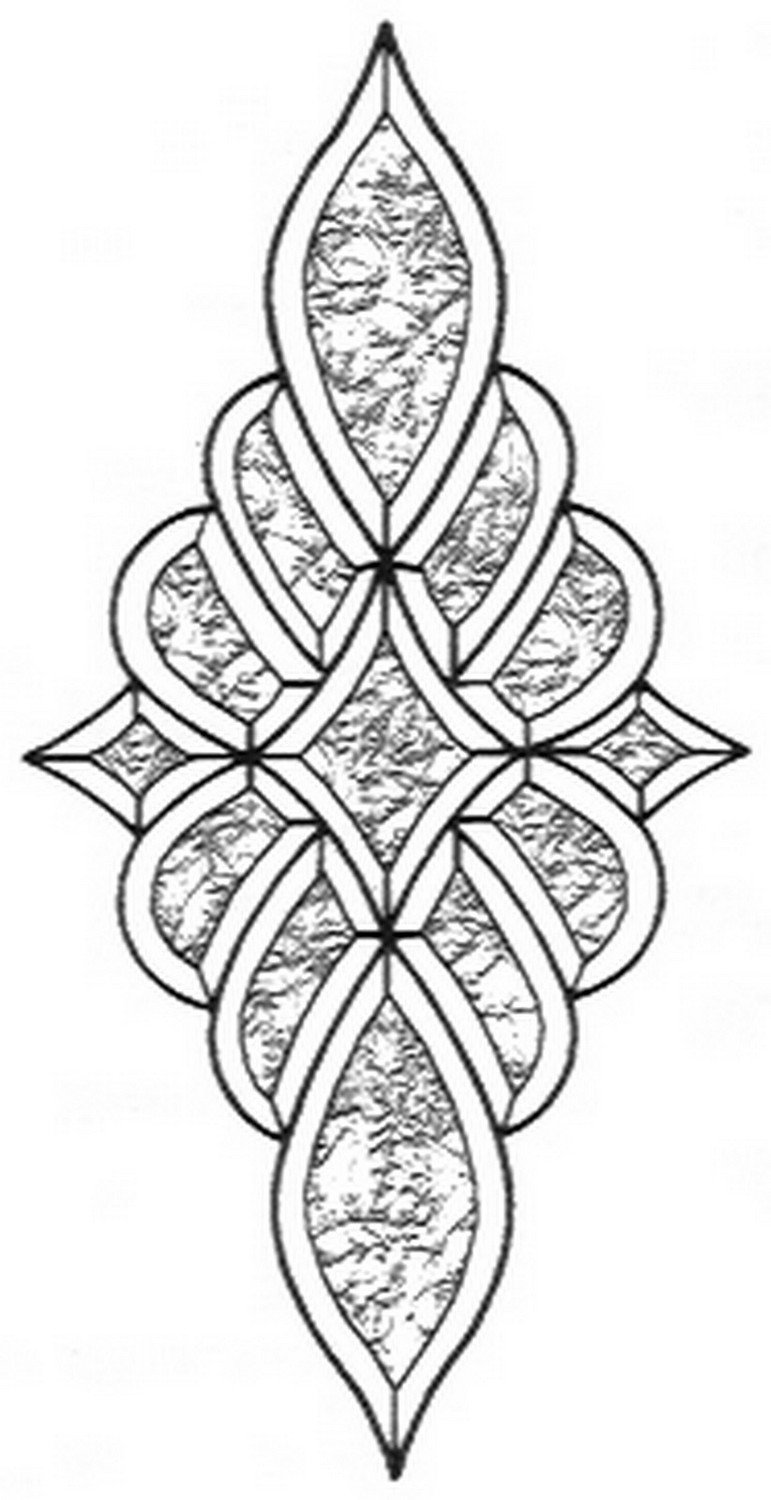 Stained Glass Supplies - Glue Chip Bevel Cluster (KB964) By Stallings Stained Glass ...