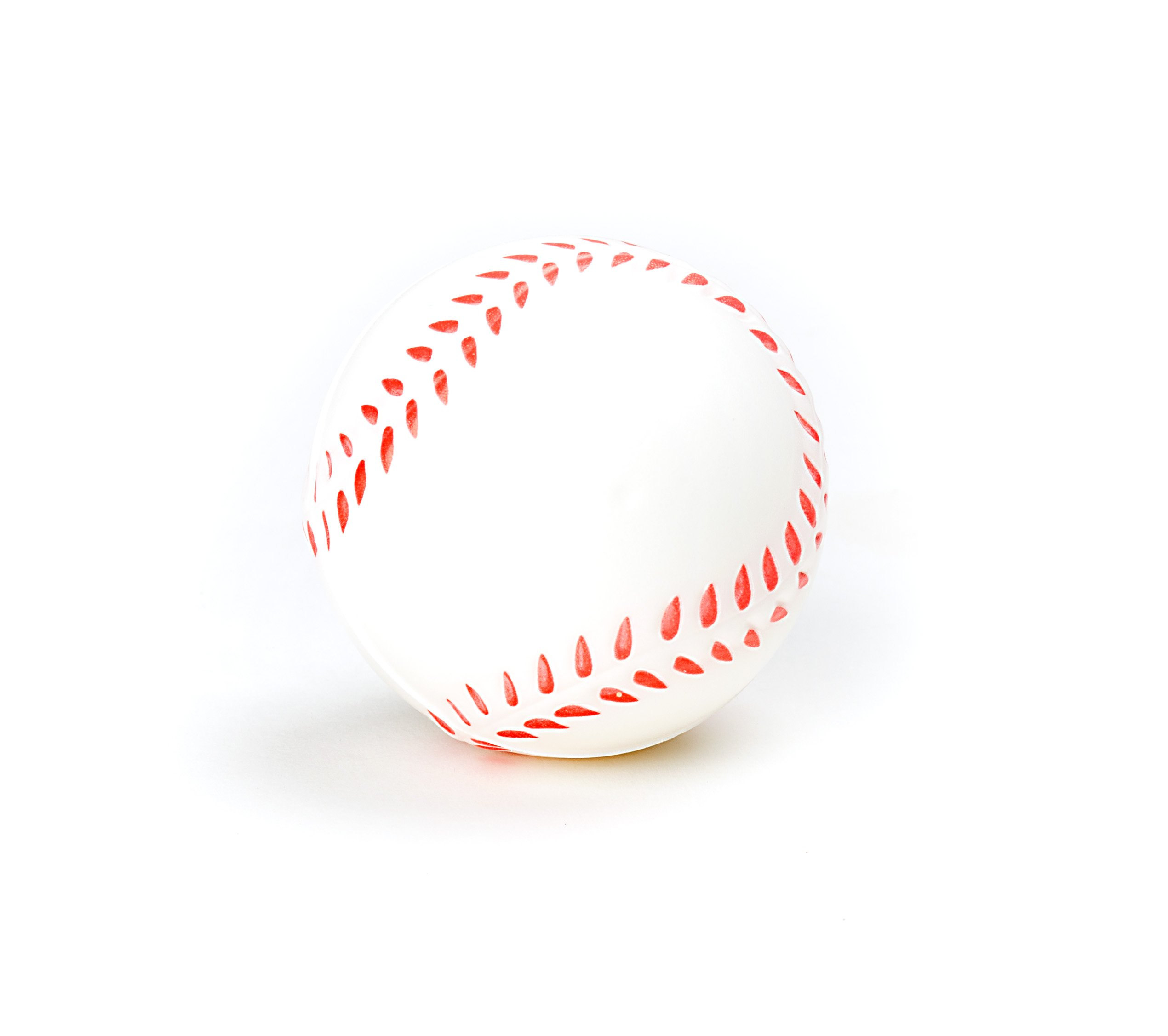 Baseball Sports Themed 2.5-Inch Foam Squeeze Balls for Stress Relief, Relaxable Realistic Baseball Sport Balls - Bulk 1 Dozen by Neliblu (Image #5)
