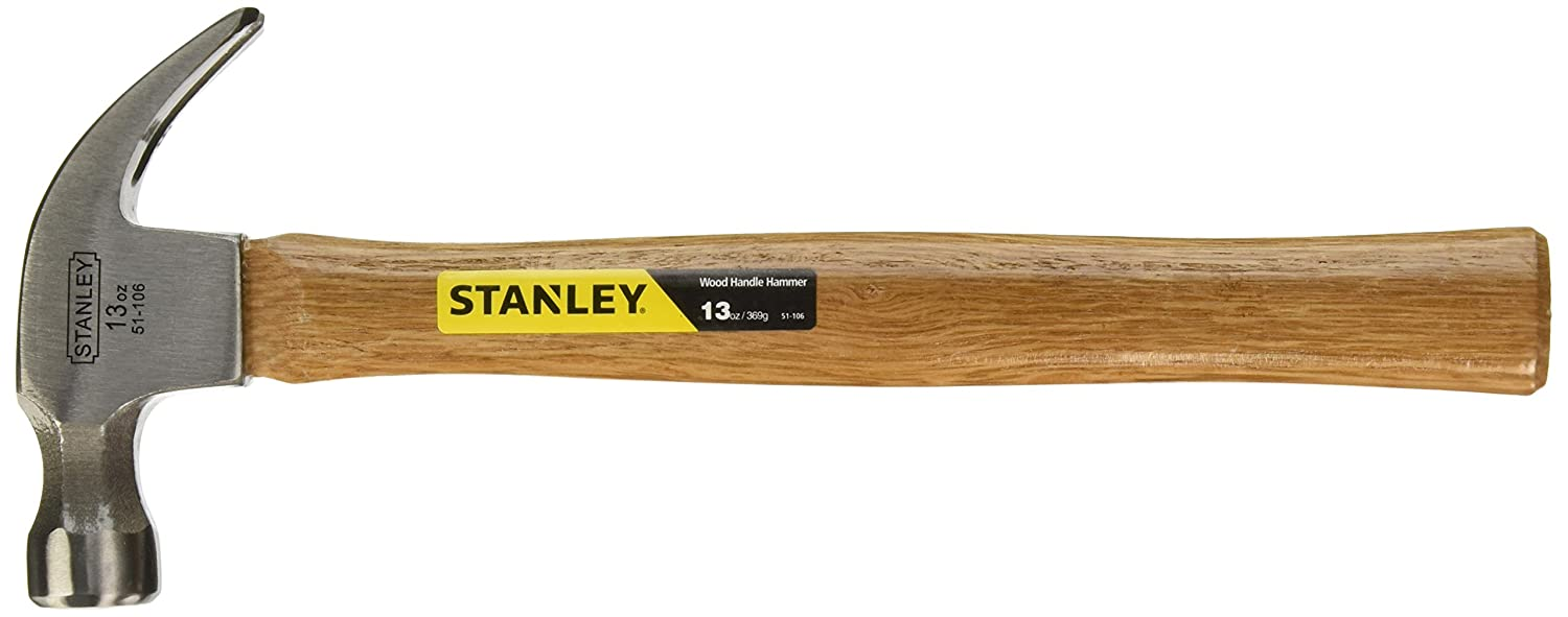 stanley 51 106 13 ounce wood hammer drywall hammers amazon com
