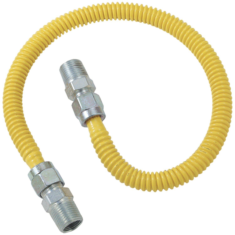 Brasscraft CSSD44-48 Gas Dryer and Water Heater Flex-Lines