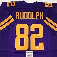 $124 » Autographed/Signed Kyle Rudolph Minnesota Color Rush Football Jersey JSA COA