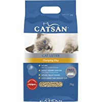 Catsan Clumping Clay Cat Litter 7kg Bag, 2 Count