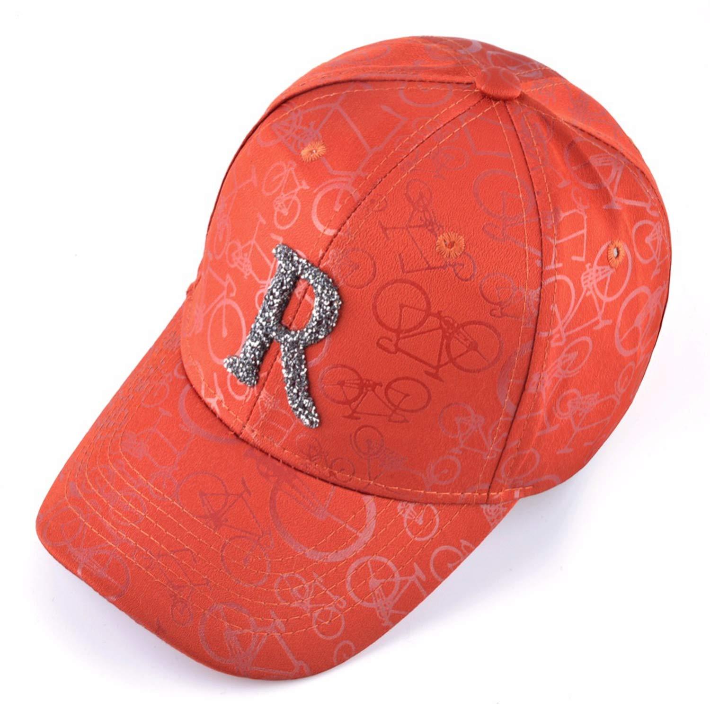 Kievil Solid Baseball Cap Men Unisex Baseball Hat Women Rhinestone Letter R Accessories Hip Hop
