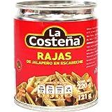 La Costeña Chile Jalapeño Rajas, 220 g
