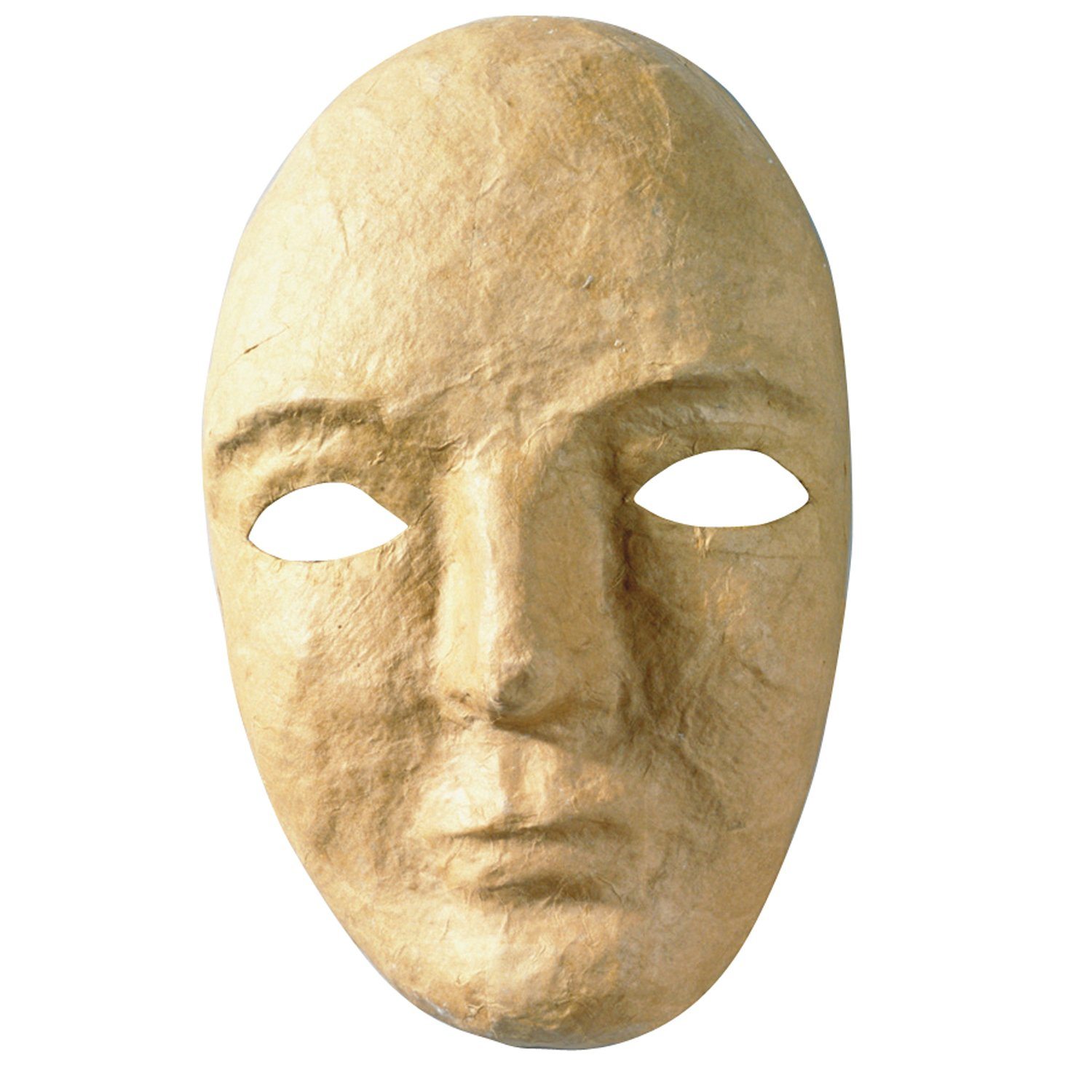 Creativity Street Papier Maché Mask, 8'' x 5.25'', Pack of 12