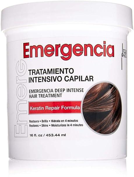 Toque Magico Emergencia 16OZ/453ML – tratamiento intensivo para el cabello, mascarilla keratina para