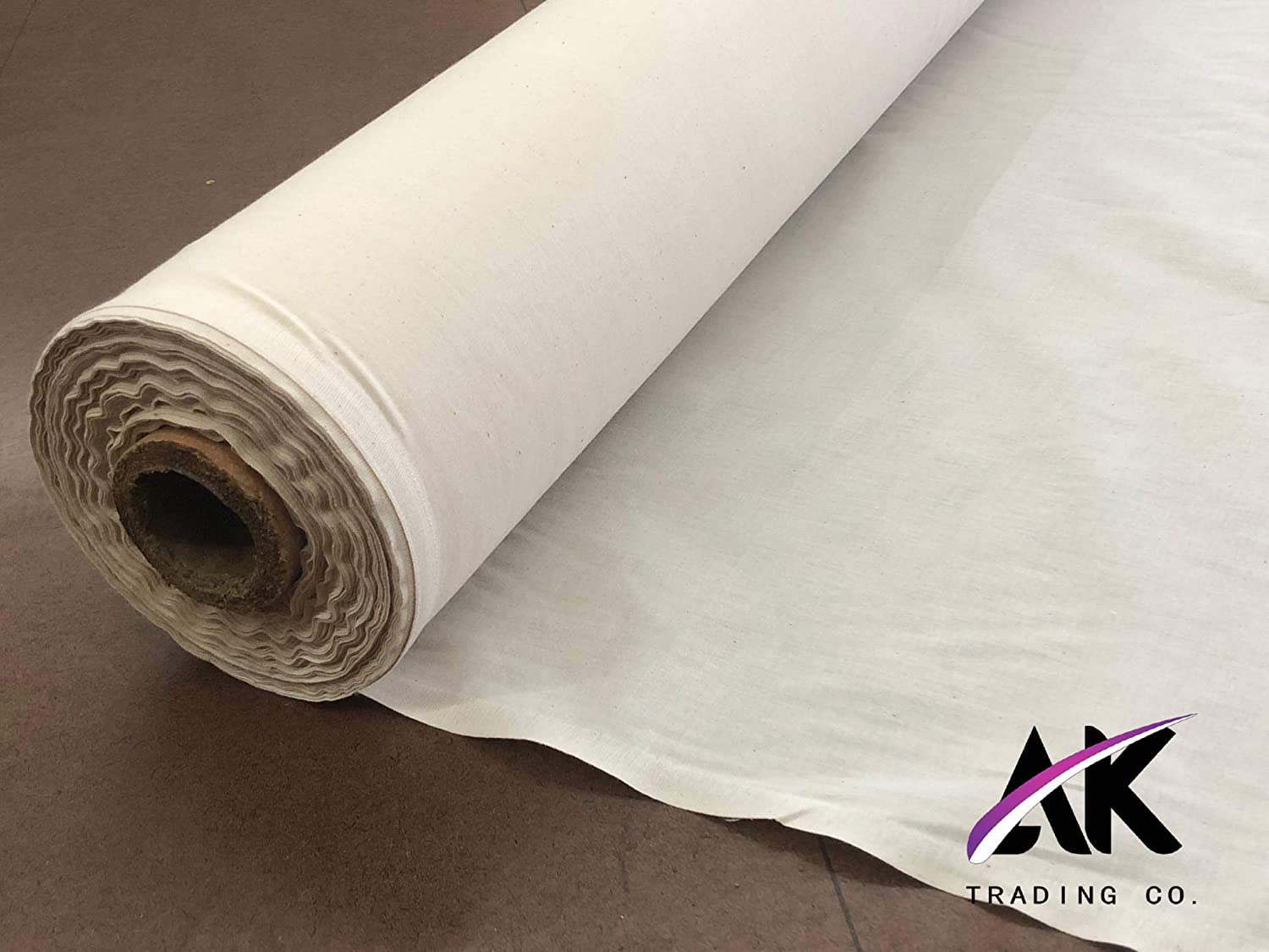 LA Linen Cotton Muslin Fabric By The 25 Yards Bolt 60 Wide Natural Color.