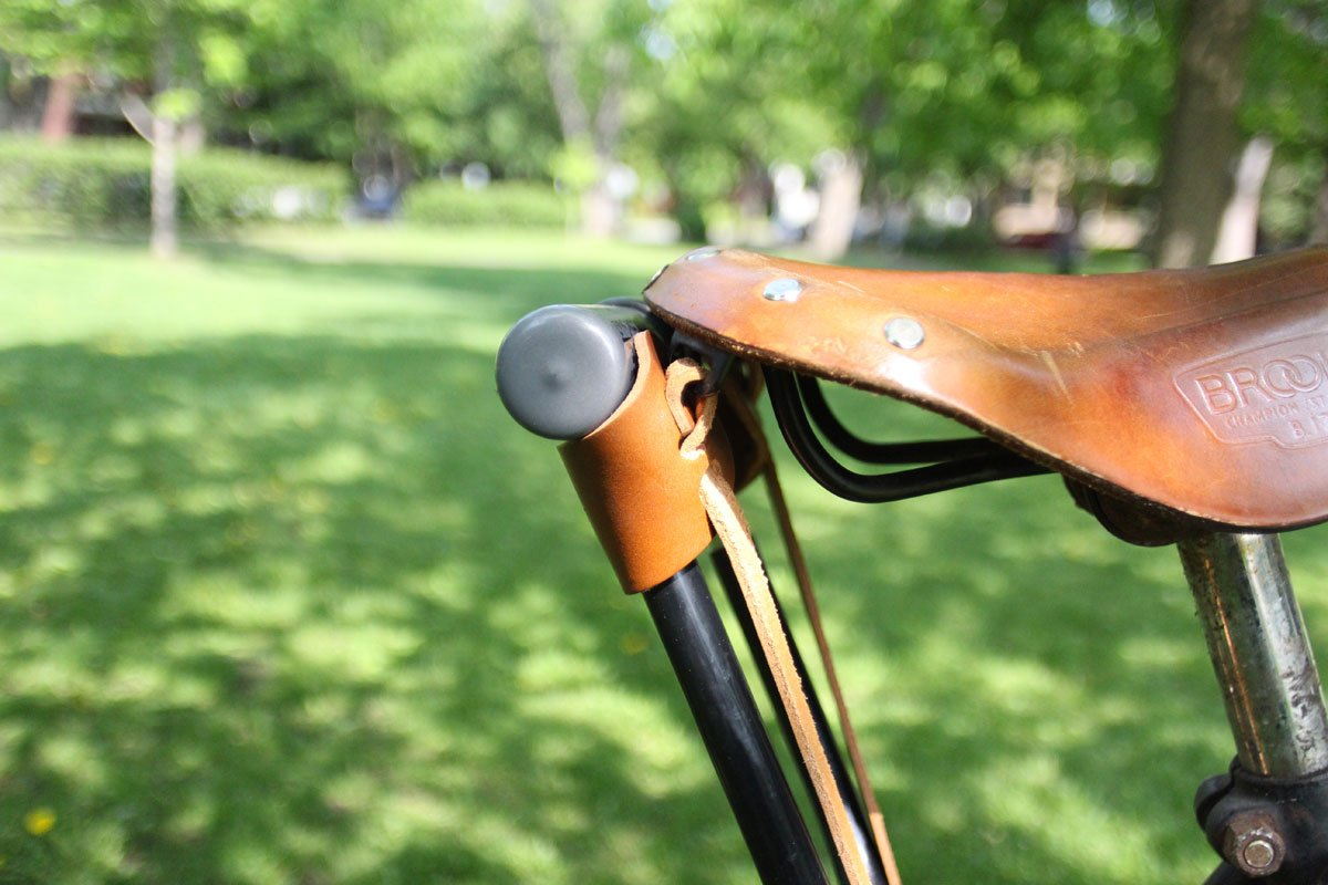 oopsmark U-Lock Holster for Kryptonite Bicycle Locks