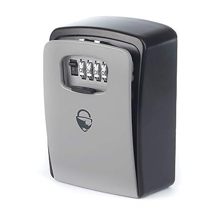 Rhino Lock - Caja de seguridad para cerradura de pared (tamaño XL, resistente,