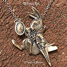 amazon com the white rabbit bronze handmade