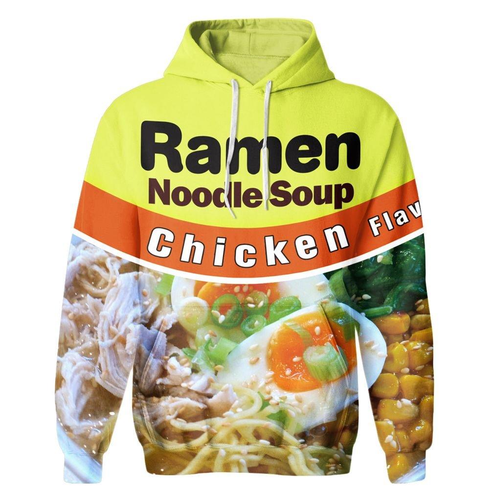 SAYM Unisex Galaxy Pockets 3D Pullover Hoodie Hooded Sweatshirts Hoodies NO34 XS