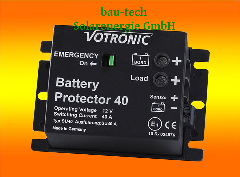 Votronic Battery Protector 40 - 12V Batteriewä chter / Batterie, Akku Ü berwachung von bau-tech Solarenergie GmbH VOBPROT040