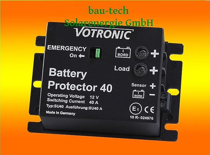 Votronic 3078 Battery Protector 100 12V 24V 100A Batteriewächter Akku Schutz