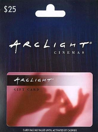 Amazon.com: ArcLight Cinemas Tarjeta de regalo: Tarjetas de ...