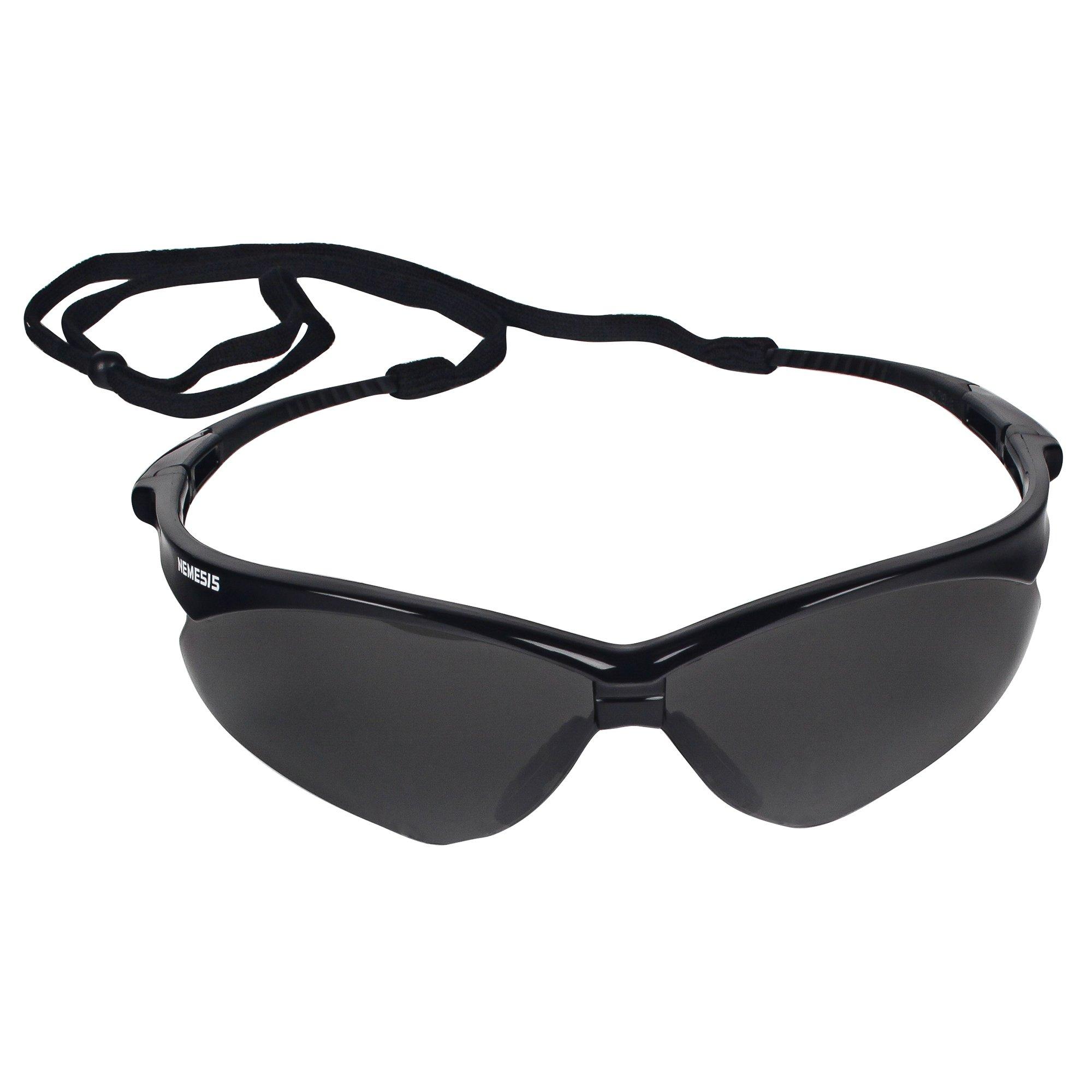 Jackson Safety V30 22475 Nemesis Safety Glasses 3020121 (3 Pair) (Black Frame with Smoke Anti-Fog Lens) by Jackson Nemesis (Image #3)