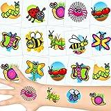 German Trendseller® 12 x tatuajes temporales granja ...
