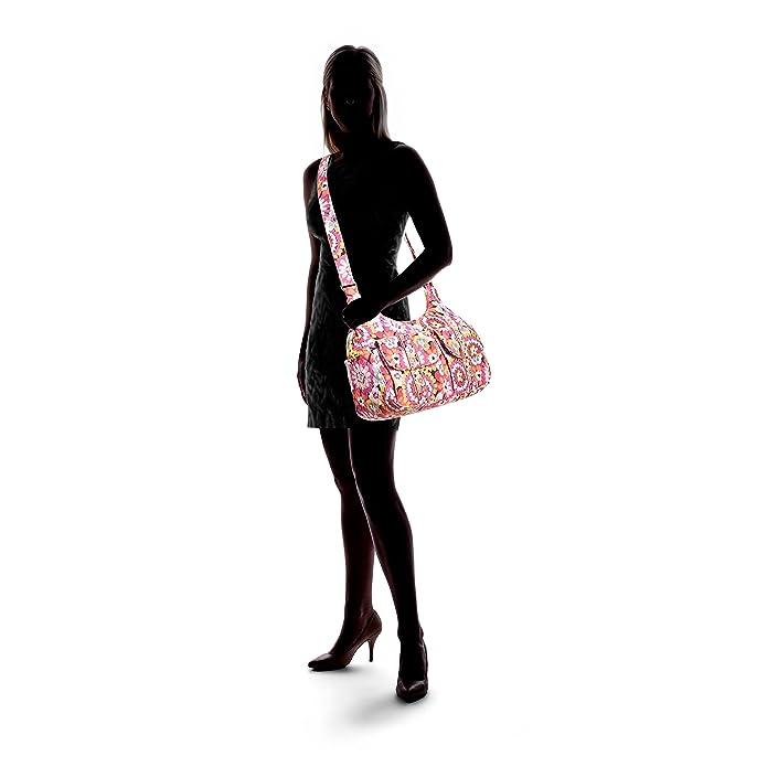 72360b4f09 Vera Bradley Cargo Sling Crossbody Pixie Blooms  Handbags  Amazon.com
