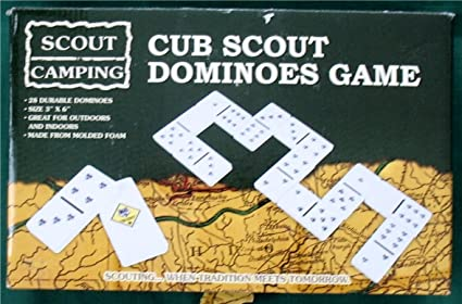 Amazon com: Cub Scout Dominoes Game Scout Camping: Toys & Games