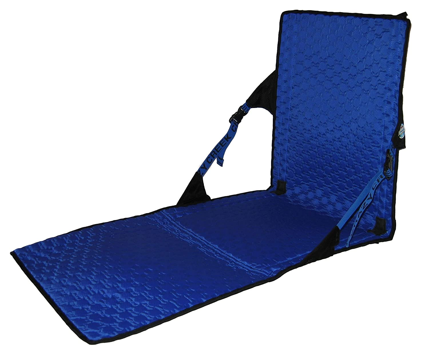 Crazy Creek HEX 2.0 PowerLounger, Black/Royal  Best Backpacking Chairs