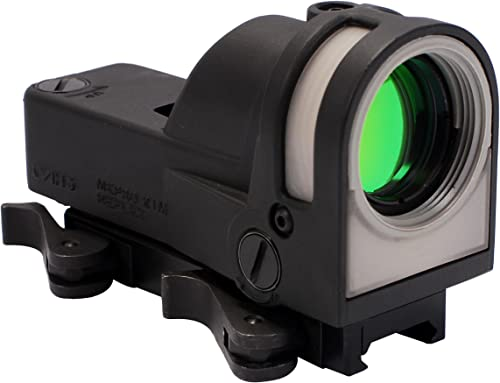 Meprolight Self-Powered Day/Night Reflex Sight with Dust Cover 5.5 MOA Reticle
