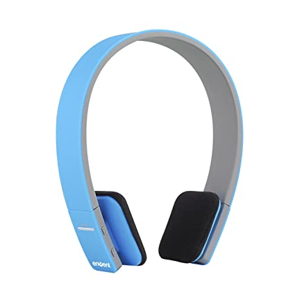 554e27a5d88 Buy Envent Boombud ET-BTHD001 Wireless Dual Pairing Bluetooth Headphones  with mic (Blue) Online at Low Prices in India - Amazon.in