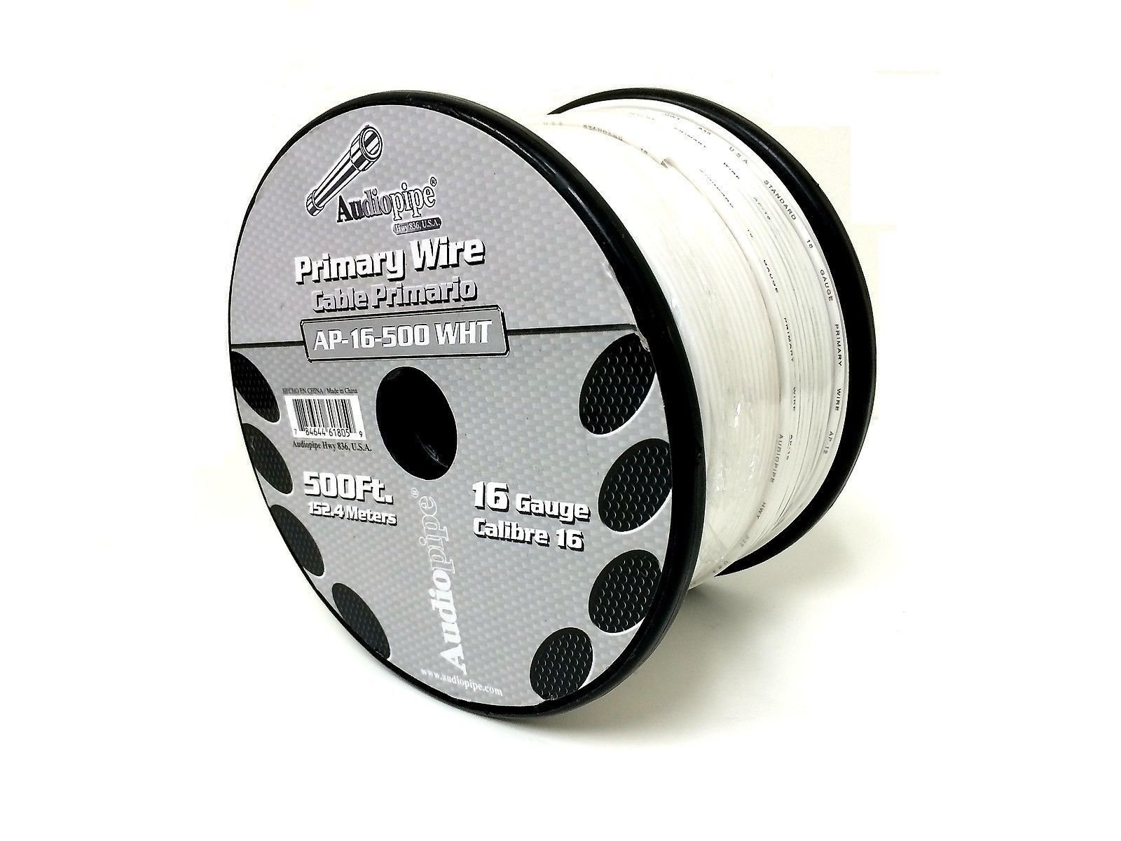 3 Rolls of 16 Gauge - 500' each Audiopipe Car Audio Home Primary Remote Wire by Audiopipe (Image #7)