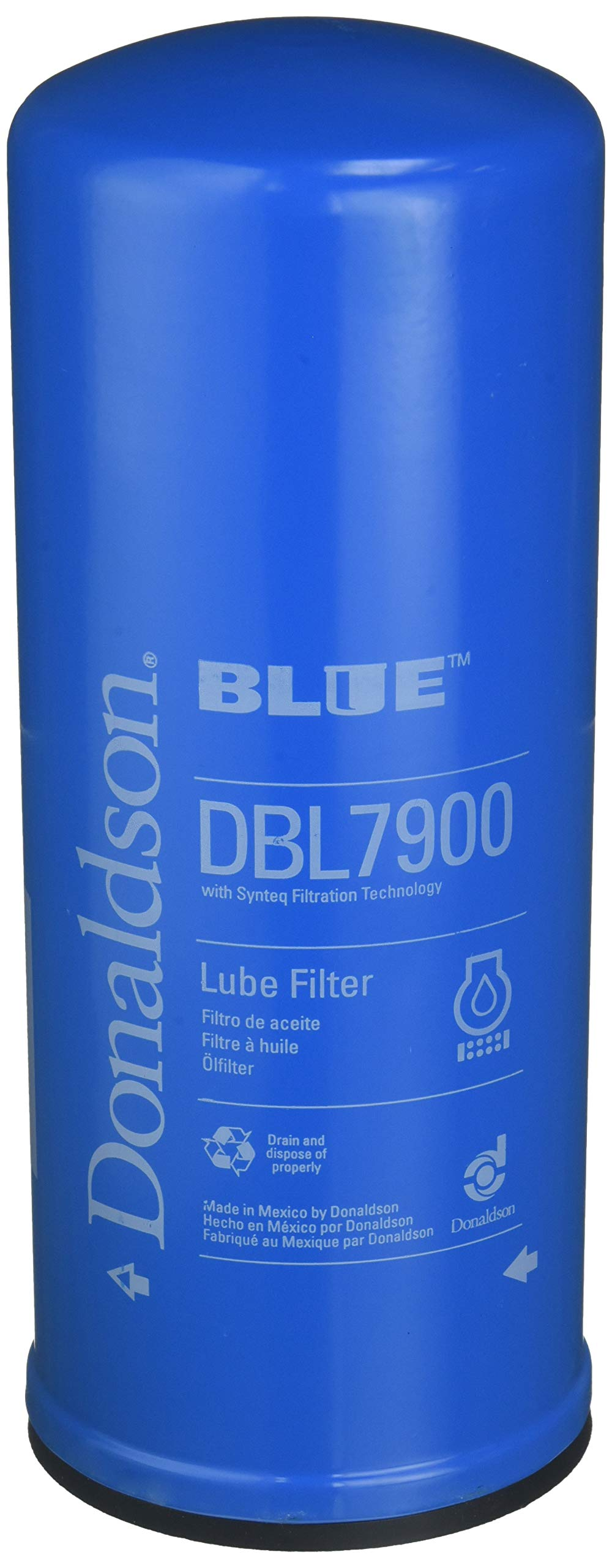 Donaldson DBL7900 Lube Filter (Spin-on Full Flow, Donaldson Blue) by Donaldson