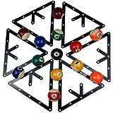 BALIKEN Triangle Rack Pool Table Ball Holder Positioning Rack Billiard Accessory Magic Ball Rack Holder Sheet Billiards…