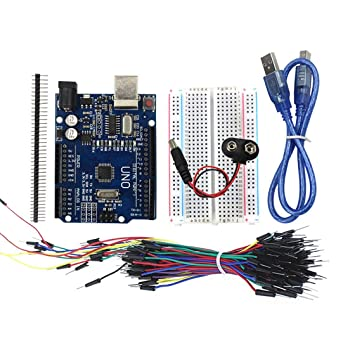 Gwendoll Arduino Uno Starter Kit 400 Point Breadboard 65 ...