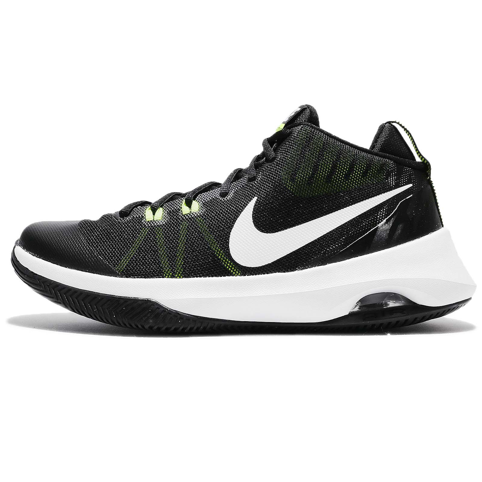 Nike Mens Air Versitile - 852431009 Black-Green-White (13) by NIKE
