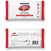 Lifebuoy Anti-Bacterial Wet Wipes (10s Pack)