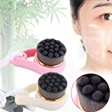 Bamboo Charcoal Facial Cleansing Brush Deep