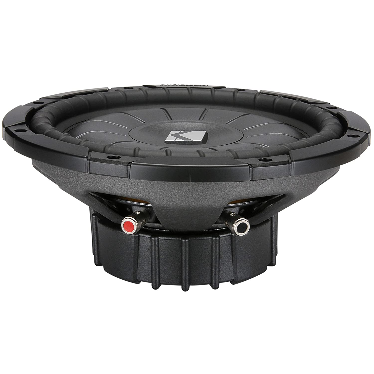 Amazon.com: Kicker 10CVT104 10-Inch CompVT Series Shallow Mount Subwoofer:  Cell Phones & Accessories