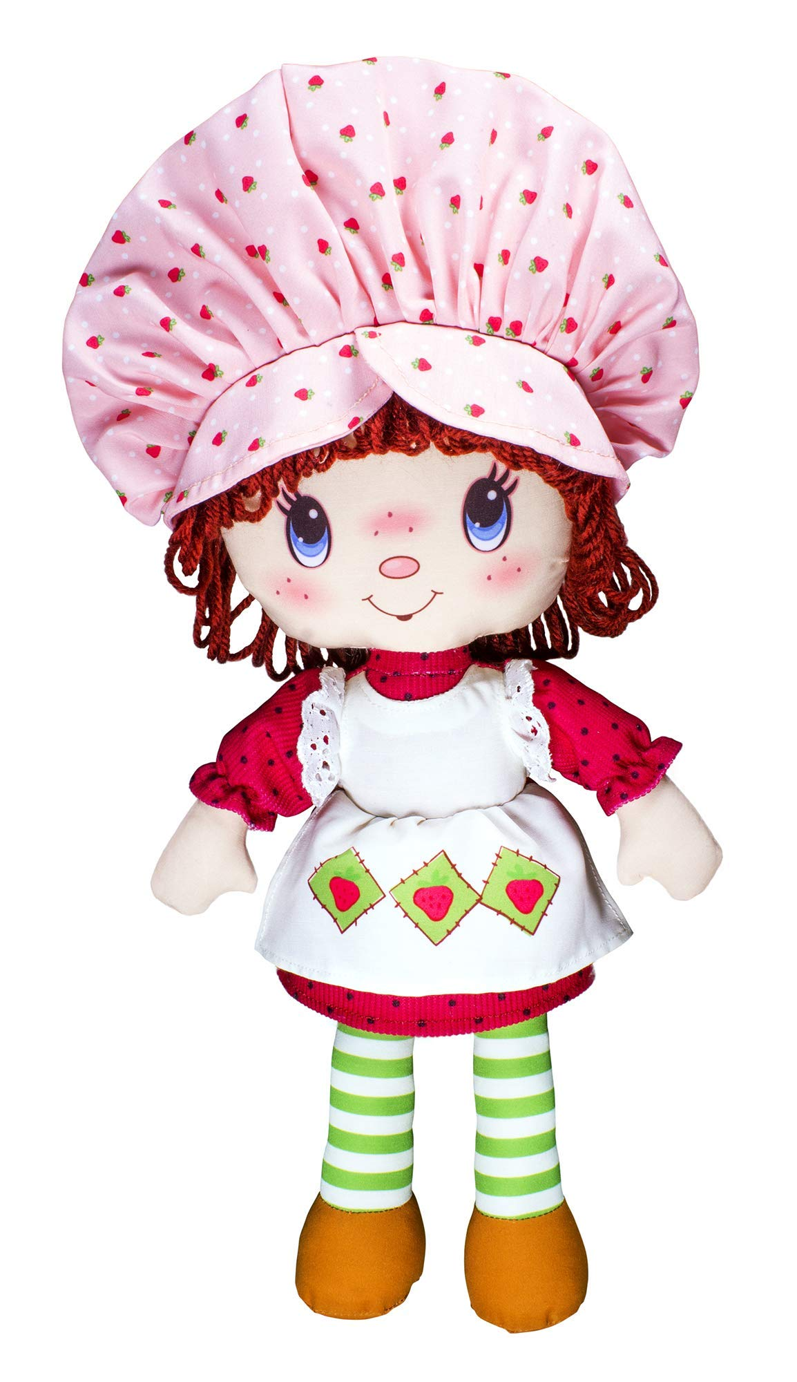 Strawberry Shortcake 40th Anniversary Retro Classic Soft Doll, for 3 Years Old and Up, Styles May Vary