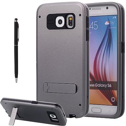 Amazon.com: Galaxy S6 Funda, pandawell ™ S6 Carcasa con ...