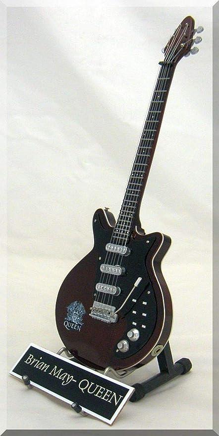 Brian May Guitarra en miniatura Queen con nombre: Amazon.es: Instrumentos musicales