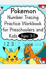 Pokemon Number Tracing Practice Workbook for Preschoolers and Kids Ages 3-5 (Talented Kids) Paperback