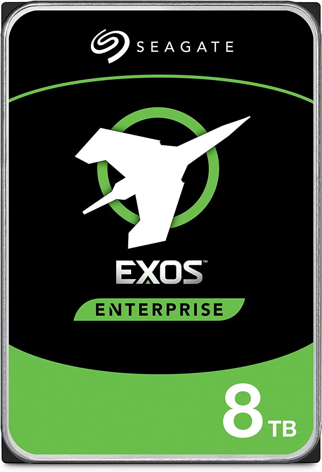 Seagate Exos 7E8 8TB Internal Hard Drive HDD – 3.5 Inch 6Gb/s 7200 RPM 256 MB Cache for Enterprise, Data Center – Frustration Free Packaging (ST8000NM0055)