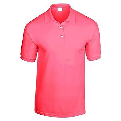 3051c06cc Gildan Adult DryBlend Jersey Short Sleeve Polo Shirt at Amazon Men s ...