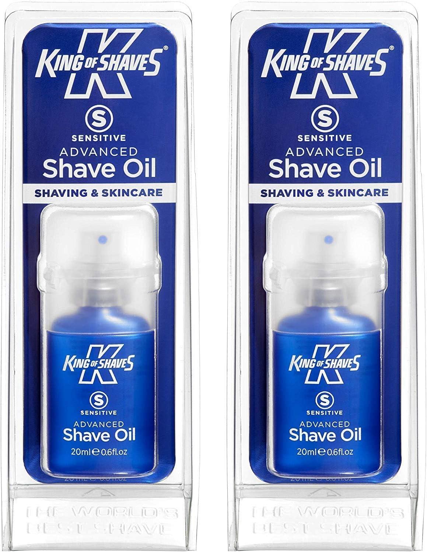 Rey de afeita afeitado sensible avanzada aceite 20 ml Paquete de ...