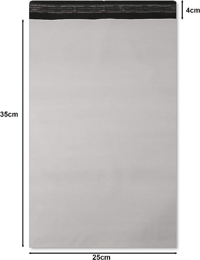 Gris 100/x 160/mm Lot de 100 postaux Poly postal Plastique enveloppes dexp/édition Sacs demballage Mail Package autocollante enveloppe