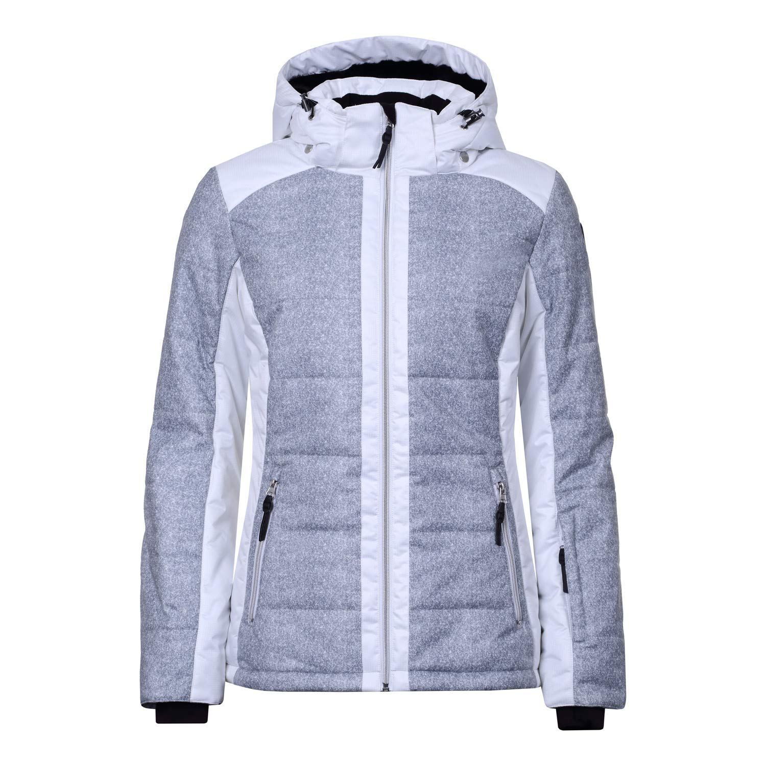 Icepeak VENLA Damen Skijacke in Light Grey: : Sport