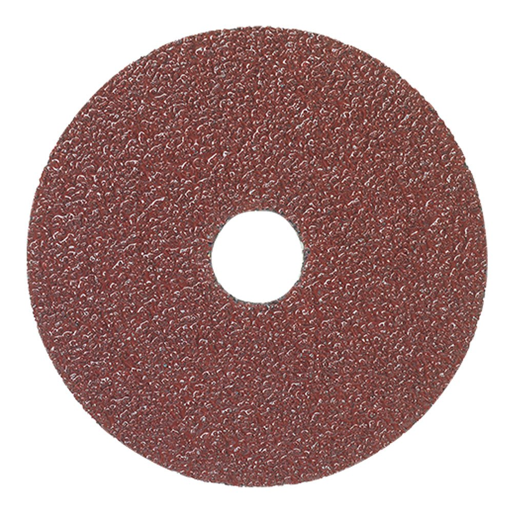 Mercer Industries 301024 24 Grit Aluminum Oxide Resin Fiber Discs (25 Pack), 4-1/2 x 7/8''
