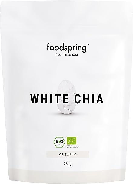 foodspring Semillas de chía blanca de calidad orgánica, 250g ...