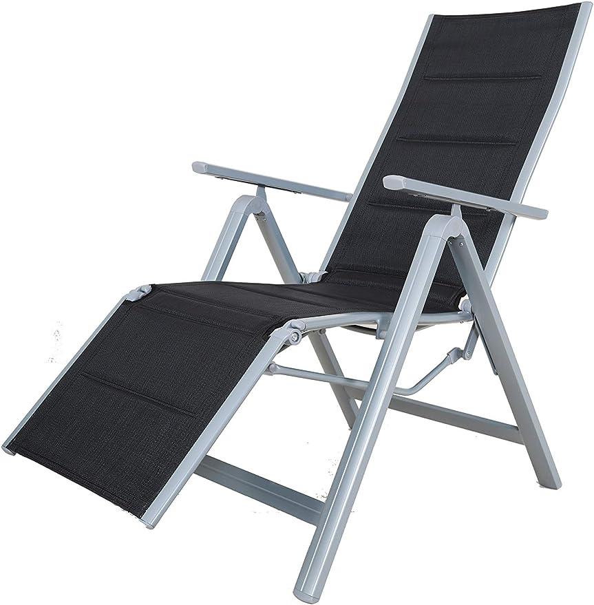 Strandgut Chaise Longue GrisNoir