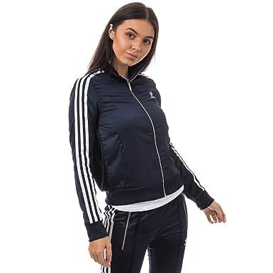 5d7d1e763a386 Amazon.com: adidas Originals Women's Europa Track Top Legend Ink 2 ...