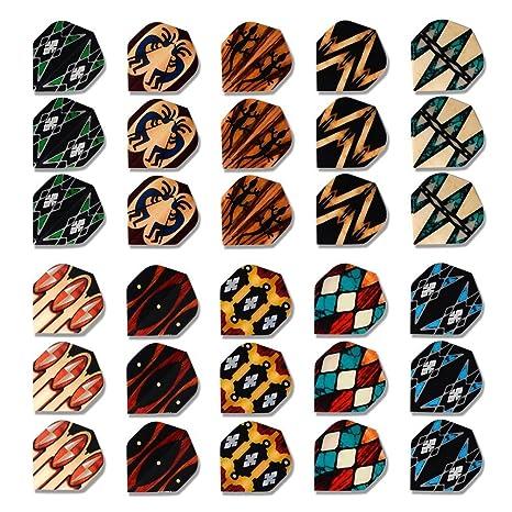 10 Sets of Standard Darts Flights by Darts Supplies Shop