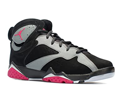 b4d61f11d4e Image Unavailable. Image not available for. Color: Nike Boys Air Jordan 7  Retro GG Sport Fuchsia Black/Sport ...