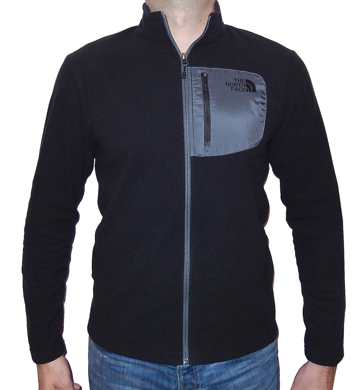The North Face TNF Black 100 Tundra Full Zip Jacket Medium