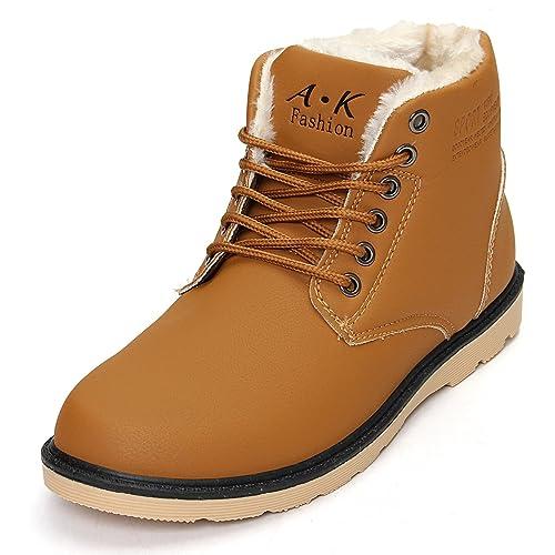 Boots L'hiver Homme de la neige en chaud chaussure Hommes les bottes les chaussures de loisirs Chaussures fourrées m5qOOPZRZZ